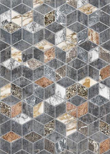 Marmer Hexagon tegel ontwerp