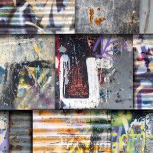 Keukenwand - Stoer graffiti design