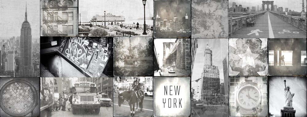 Keukenwand - New York City Tegels