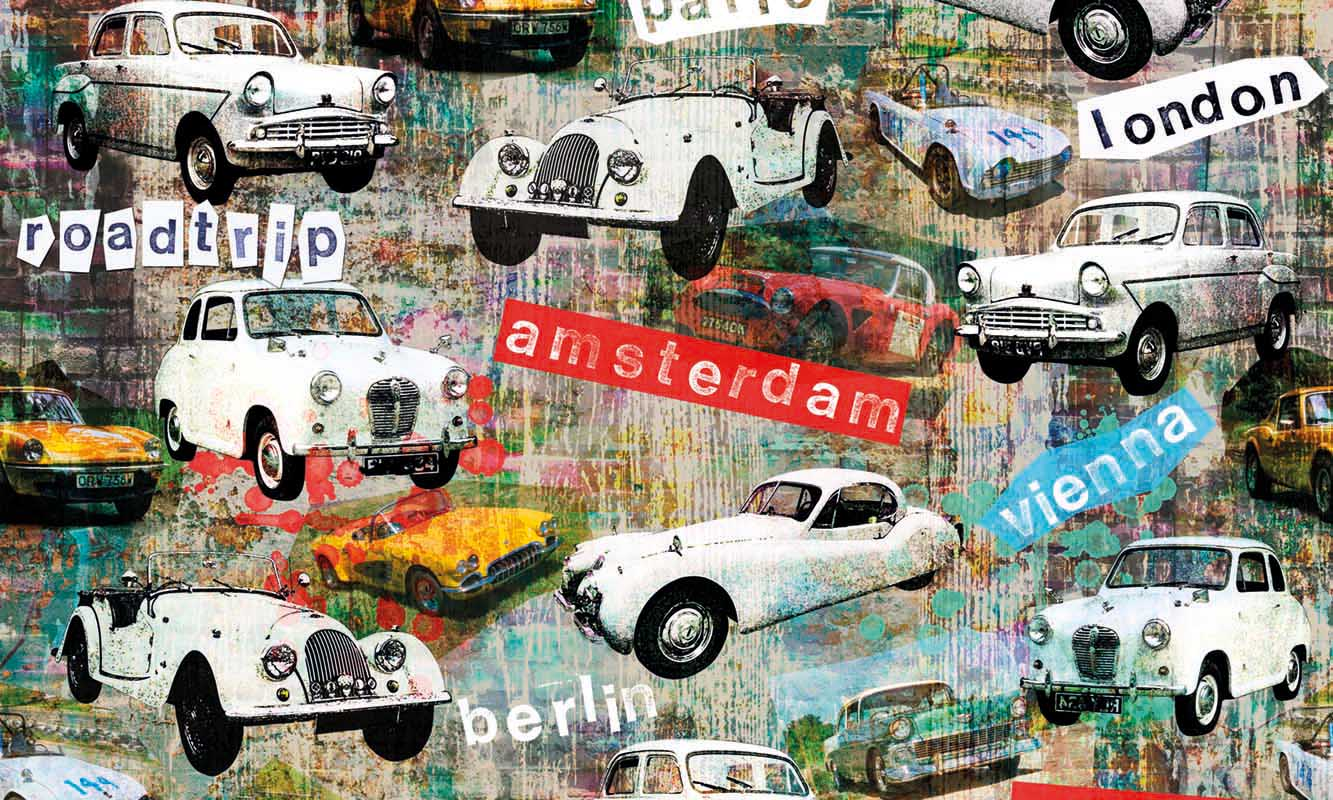 Keukenwand - Amsterdam Cars