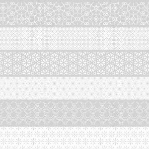 Spatwand met print - Basic Strepen