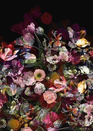Bloemen Achterwand - DW7319