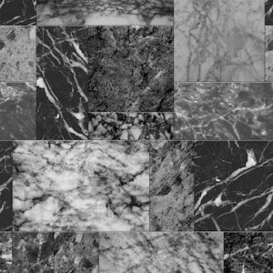 Spatwand - Zwart Marmer Tegeldesign