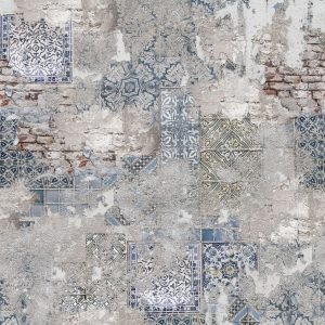 DW7396 - Keukenwand Staal
