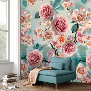 Behang Colorful - Sweet Roses - INK7294