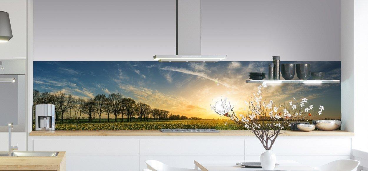 Keukenwand - Sunset