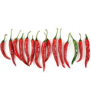 Keukenwand - Chili Pepers