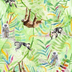 Kinderbehang Monkey Business