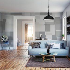 Behang Timeless - Panel Grey