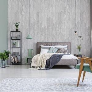 Behang Timeless - Stylo Grey