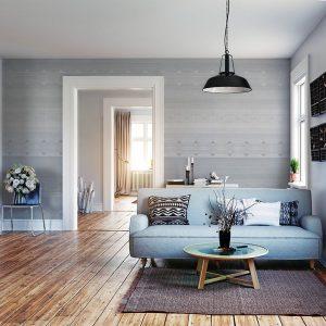 Behang Timeless - Oslo Grey