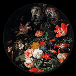 Bloemen Muurcirkel - DC9901