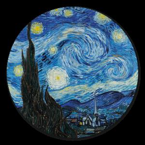 Muurcirkel - Blauwe hemel