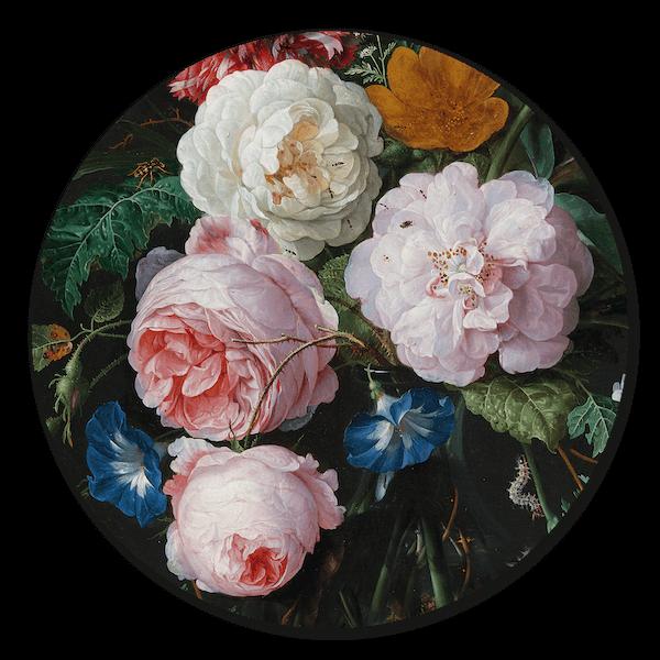 Rijksmuseum Bloemen Muurcirkel