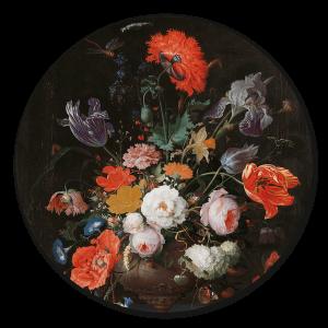 Stilleven Bloemen Muurcirkel