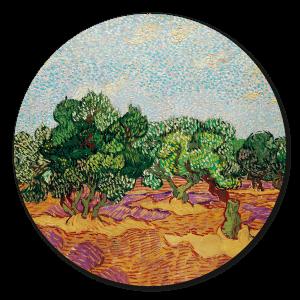 Abstract Muurcirkel