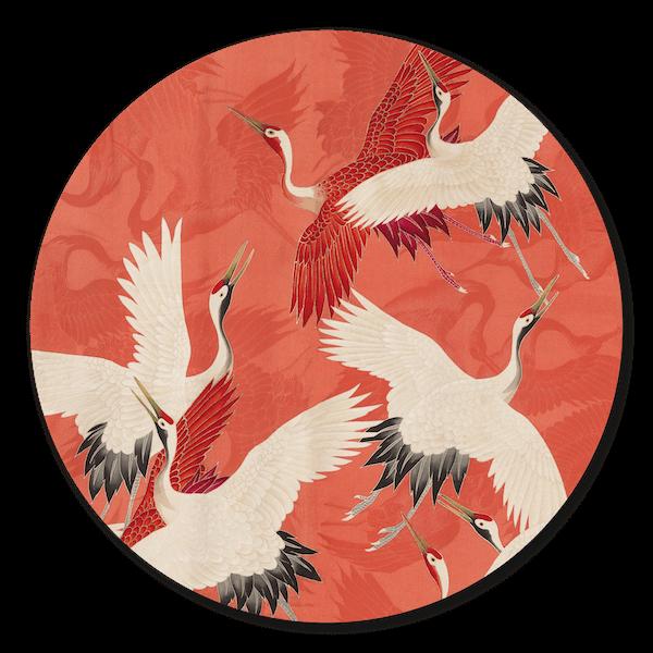 Muurcirkel - Red Cranes