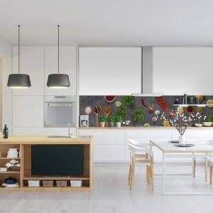 Keuken achterwand - Spices and Herbs Slates