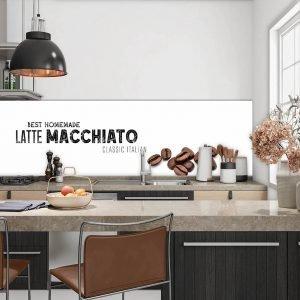 Keuken achterwand - Best Homemade Latte