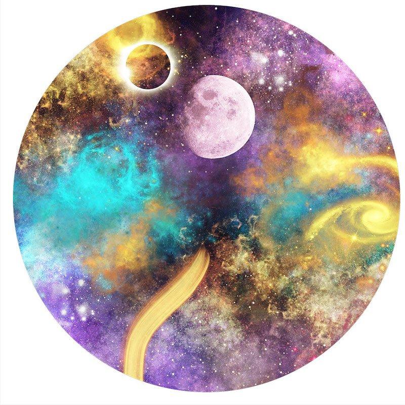 Muurcirkel Galaxy Six