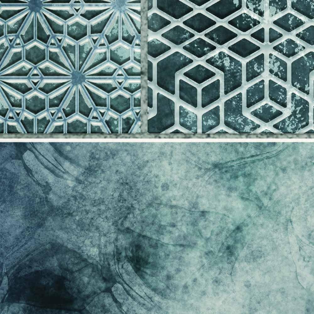 DW8552 Tiless Pattern detail