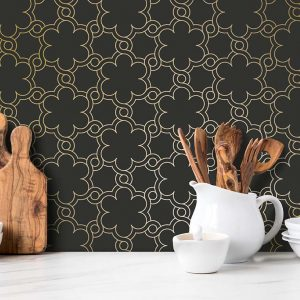Keukenwand met print - Casablanca Dark