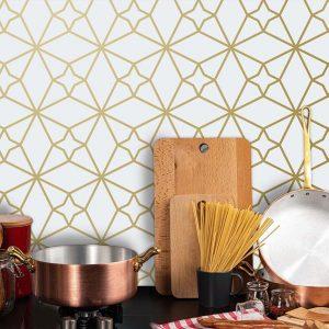Keukenwand met print - Fez