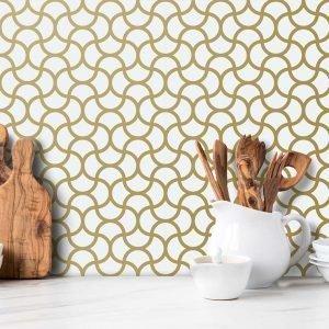 Keukenwand met print - Marrakech